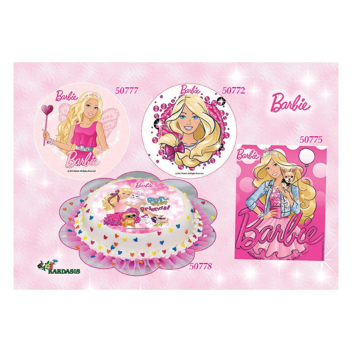 Barbie με Ροζ Φιόνγκο
